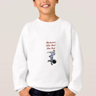 Bowlings-Mechaniker Sweatshirt