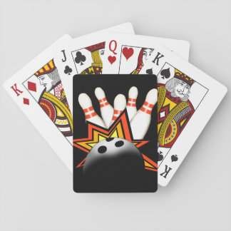 Bowlings-Spielkarten Spielkarten