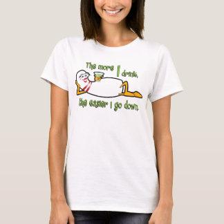 Bowlings-Team-Shirt - mehr trinke ich T-Shirt