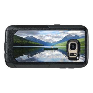 Bowman See - Glacier Nationalpark Montana OtterBox Samsung Galaxy S7 Hülle