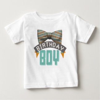 Bowtie Geburtstags-Jungen-T-Shirt Baby T-shirt