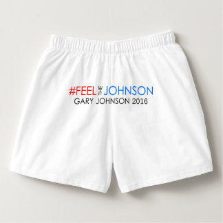 Boxer #feelthejohnson Garys Johnson 2016 Herren-Boxershorts