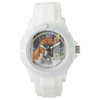 Boxer-Geschenke, wo Liebe wächst Armbanduhr