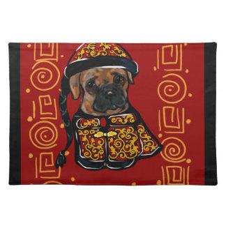 Boxer-Hund des Jahres Tischset