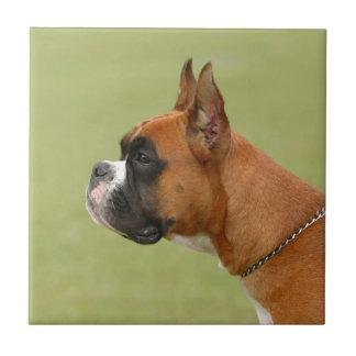 Boxer-Hund Keramikfliese