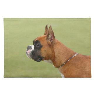 Boxer-Hund Tischset