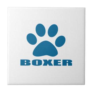 BOXER-HUNDEentwürfe Keramikfliese