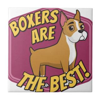 Boxer sind das Beste Keramikfliese