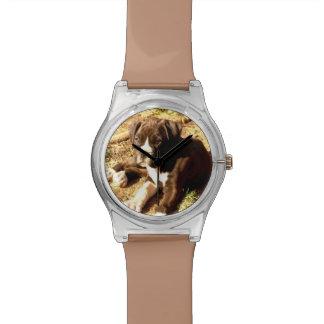 Boxerhundearmbanduhr Uhr