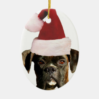 Boxerhundeverzierung Keramik Ornament
