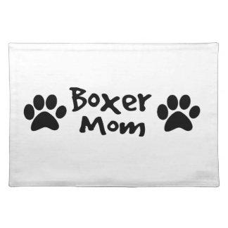 Boxermamma Tischset