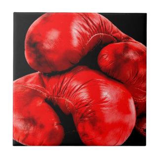 Boxhandschuh-Boxer-Schmutz-Art Fliese