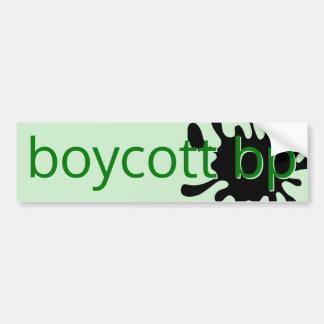 Boykott BP Autoaufkleber