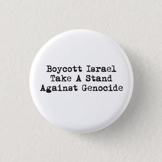 Boykott-Israel-Knopf Runder Button 2,5 Cm