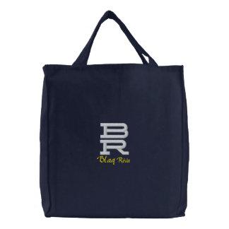BR Initialen gestickte Tasche