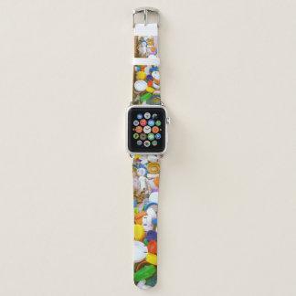 Bracelet Apple Watch Bande de montre d'Apple de capsules