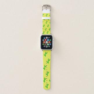 Bracelet Apple Watch Bande de montre heureuse d'Apple de cactus