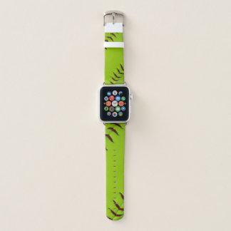 Bracelet Apple Watch Bande de poignet de montre de pomme du base-ball