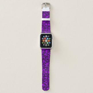 Bracelet Apple Watch Chat pourpre