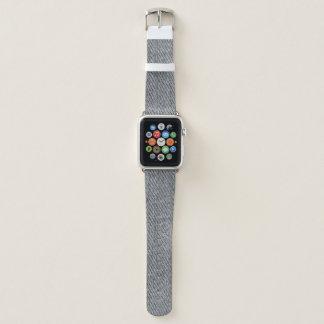 Bracelet Apple Watch Copie noire de denim