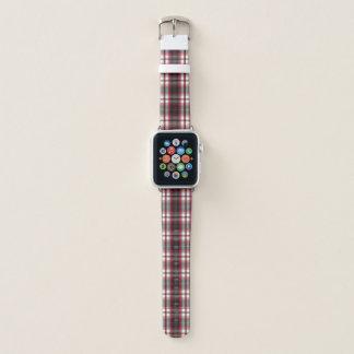 Bracelet Apple Watch Franchement bande de montre d'Apple de plaid