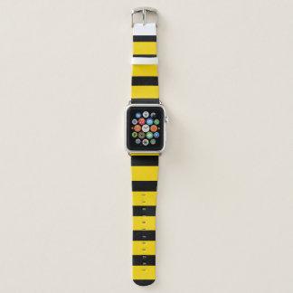 Bracelet Apple Watch Gaffez la bande de cuir de montre d'Apple
