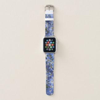 Bracelet Apple Watch le jardin fleurit de vraies photos réelles de mon