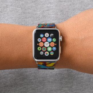 Bracelet Apple Watch Peinture de Slatter