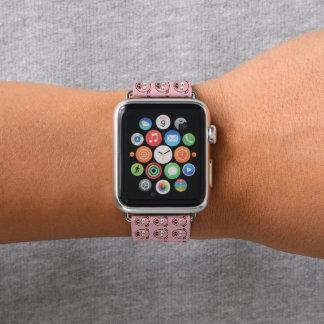 Bracelet Apple Watch Petits porcs