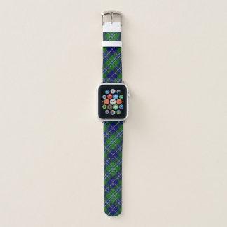 Bracelet Apple Watch Plaid de tartan écossais de Douglas de clan de