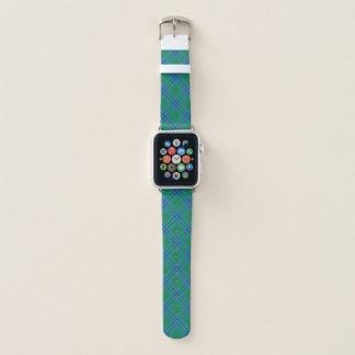 Bracelet Apple Watch Plaid de tartan écossais d'Irvine Irwin de clan de