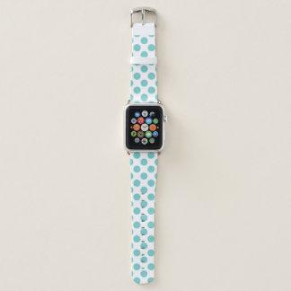 Bracelet Apple Watch Pois d'Aqua