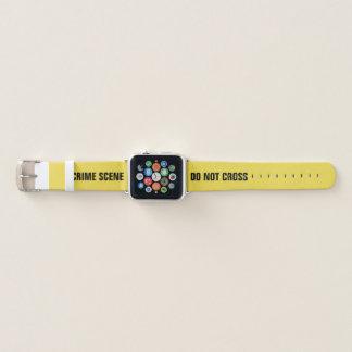 Bracelet Apple Watch Scène du crime