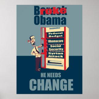 Brach Obama Poster