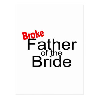 Brach Vater der Braut Postkarten