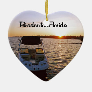 Bradenton Florida Keramik Ornament