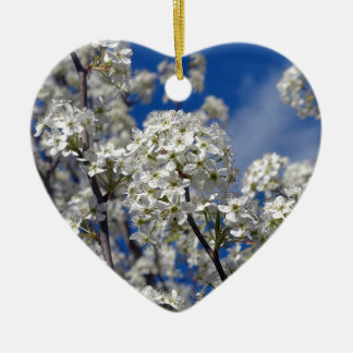 Bradford-Birnen-Blüte Keramik Ornament
