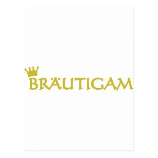Braeutigam Ikone Postkarte