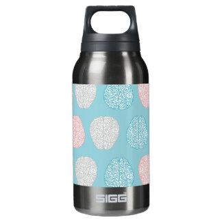 Brainy Pastellmuster (fantastische Pastellgehirne) Isolierte Flasche