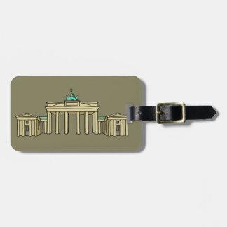 Brandenburger Tor Berlin Kofferanhänger