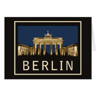 Brandenburger Tor Berlins Karte