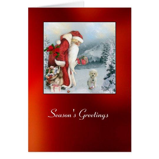 Brandi am Weihnachten Karte