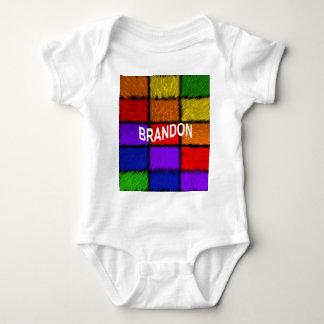BRANDON (männliche Namen) Baby Strampler