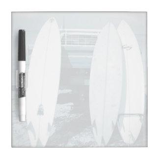 Brandung 3 Surfbretter beben das blaue surfende Trockenlöschtafel