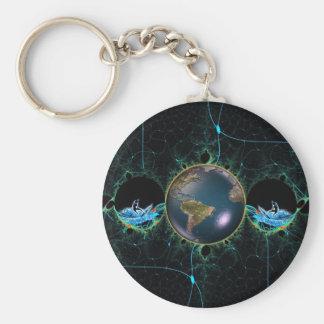 Brandungs-Planet Keychain Schlüsselanhänger