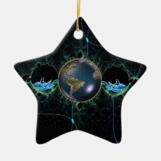 Brandungs-Planeten-Keramik-Verzierung Keramik Ornament