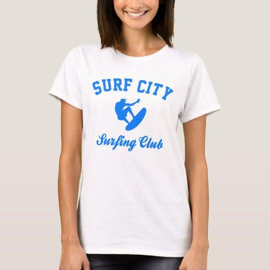 Brandungs-Stadt T-Shirt
