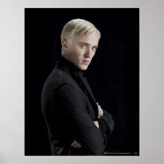 Bras de Malfoy de Draco croisés Poster