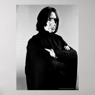 Bras de Severus Snape croisés Affiches