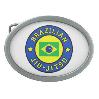 Brasilianer Jiu Jitsu Ovale Gürtelschnallen